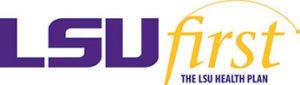 LSU first health insurance logo